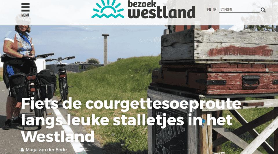 Blog Bezoek Westland: Fiets de Courgettesoeproute langs leuke stalletjes in het Westland