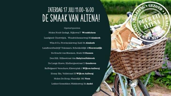 Smaak van Altena: fietstocht met proeverijtjes op boerderijen