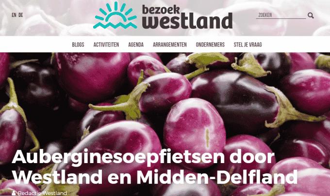 Auberginesoepfietsen door Westland en Midden-Delfland – Blog Bezoek Westland
