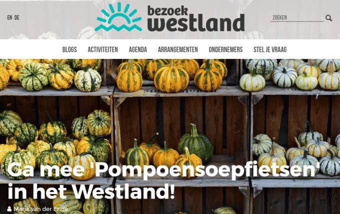 Ga mee 'Pompoensoepfietsen' in het Westland! – Blog Bezoek Westland
