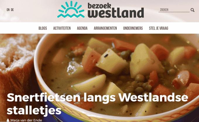 Snertfietsen langs Westlandse stalletjes – Blog Bezoek Westland