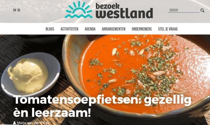 Tomatensoepfietsen: gezellig èn leerzaam! – Blog Bezoek Westland