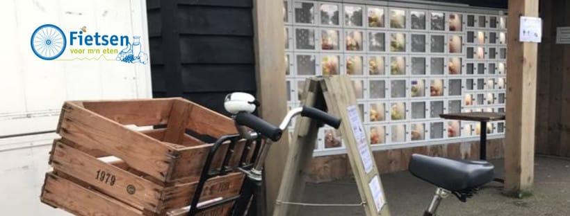 Altena Fietsen voor mijn Eten Jacoline Peek bij Fruitautomaat