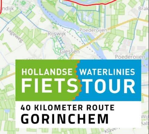 Hollandse Waterlinies Recreatieve Fietstour op 19 juni met startpunt in Gorinchem