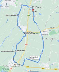 Hank-Uppel 23 km
